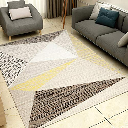 Used, DADAO Modern Contemporary Area Rugs,Home Model Carpet,Nordic for sale  Delivered anywhere in USA