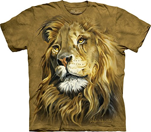 The Mountain Men's Lion King T-Shirt, Brown, Small