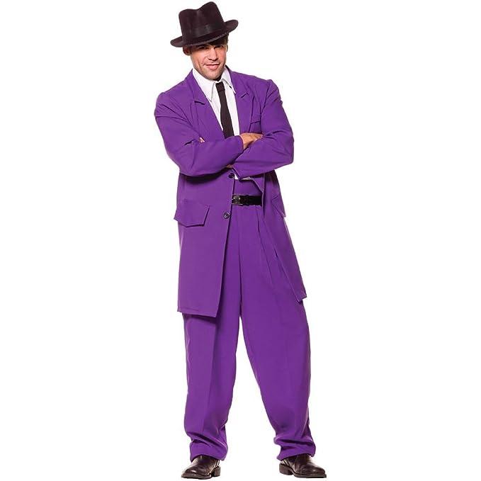 Men's Vintage Style Clothing Underwraps Costumes Mens Zoot Suit Mobster Costume $24.95 AT vintagedancer.com