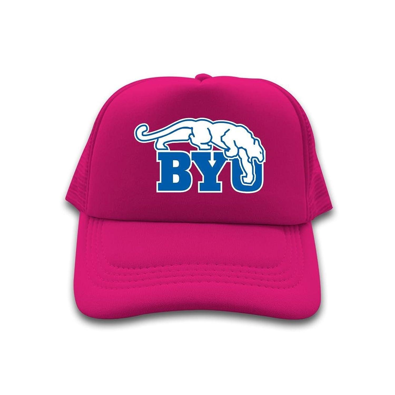 Nice Cotton Men Women Trucker Hat Byu Cougars Logo NCAA Adjustable Cute Sun Cap
