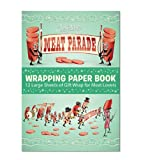 river meat - Accoutrements Meat Parade Wrapping Paper Book