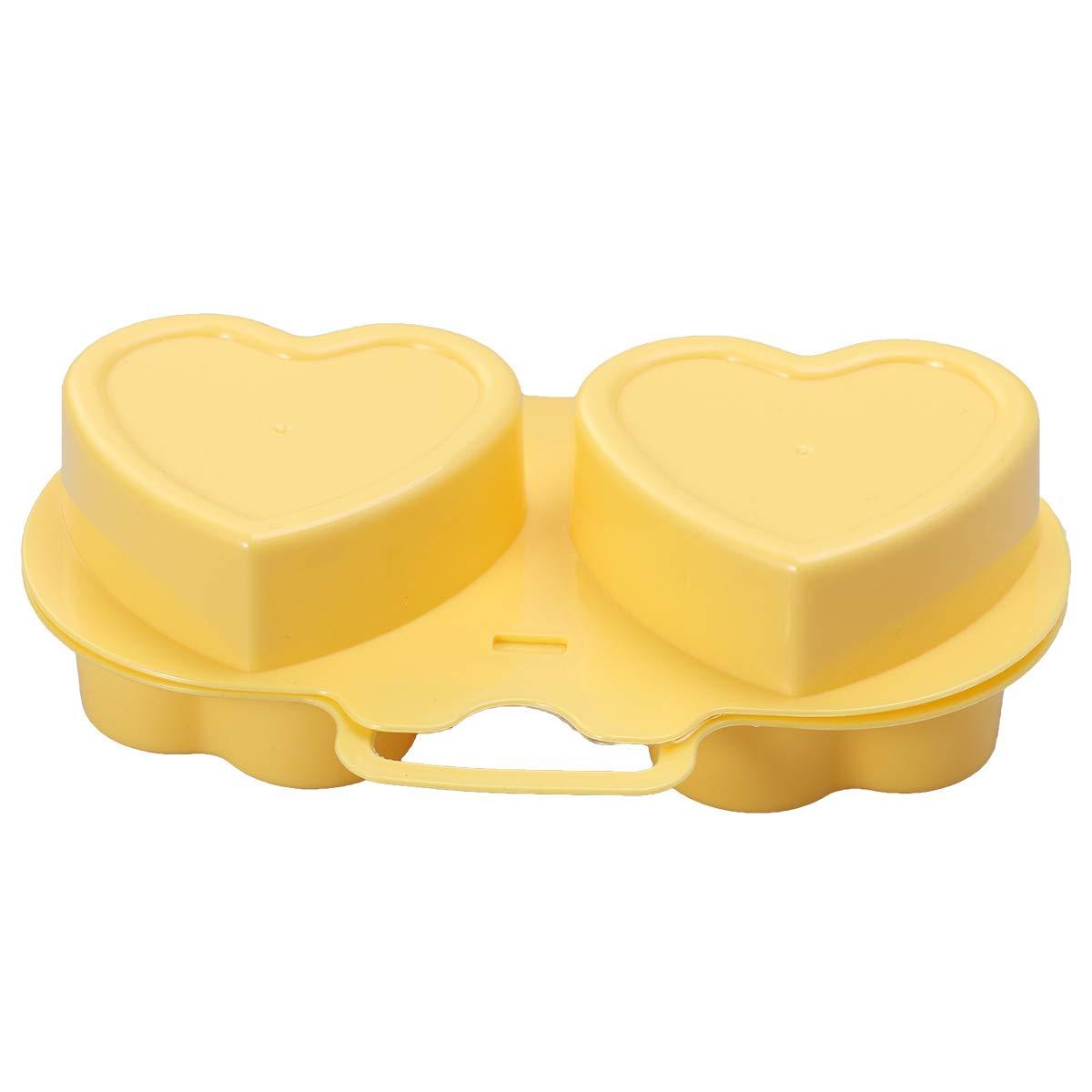 BESTONZON Horno microondas Horno Cocina Huevo en Forma de Caldera Cocina aparatos de Silicona Huevos fritos Horno