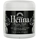 Rainbow Research Henna Persian Black 4 Oz, 2 pack