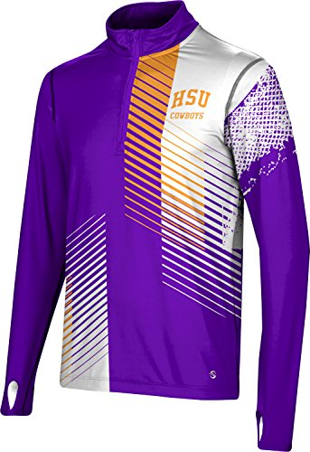 ProSphere Men's Hardin-Simmons College Hustle Half Zip Long Sleeve (Apparel) F07D2
