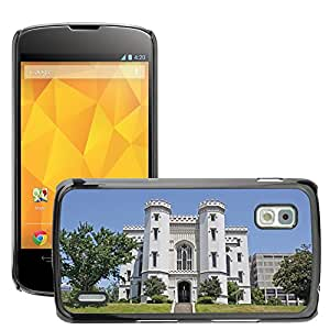 Hot Style Cell Phone PC Hard Case Cover // M00171061 Old State Capitol Mansion Governor // LG Nexus 4 E960
