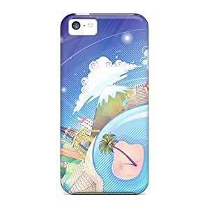 Snap-on Cases Designed For Iphone 5c- World 3d