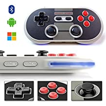 Game Controller, YIKESHU excellent 8Bitdo Controller work with Nintendo Switch, Wireless Bluetooth Controller Classic Nintendo Gamepad Joystick for iOS (iCade), Mac OS, Android and Windows devices(NES30 Pro)