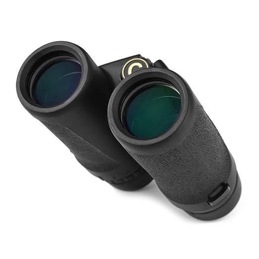 8X32 telescopio de alta definición de doble tubo adulto Kemet al aire libre mirando gafas instrumento óptico brillante y guapo al aire libre telescopio: ...