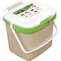 Source Separation Systems All Organics Kitchen Caddy, Beige, 7 Litre Capacity