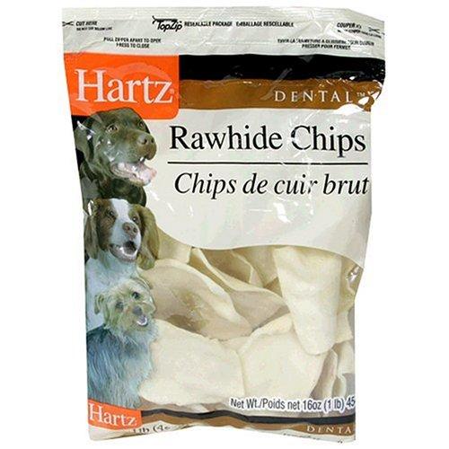 Hartz Rawhide Chips (Hartz 81271 1 Lb Dental™ Rawhide Chips)