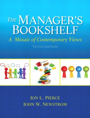 Manager S Bookshelf The A Mosaic Of Contemporary Views See More 10th Edition