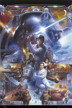 Star Wars   30Th Anniversary   Maxi Paper Poster