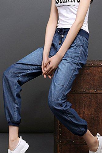 Jeans lastique Blue Jeans Et Les Taille Les Femmes Casaul Taille Suvotimo TBqzYAqw