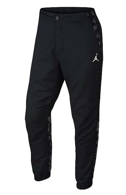 Nike Jordan Men's Air Jordan City Jumpman Jogger Pants-Black-36