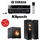 Yamaha RX-V779BL 7.2-Channel Wi-Fi Network AV Home Theater Receiver + (1) Pair of Klipsch Reference Premiere RP-260F Floorstanding Speakers + (1) Klipsch R-12SW 12-Inch 400W Powered Subwoofer offers