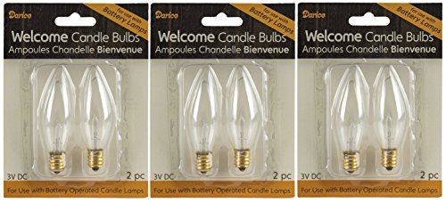 Darice Welcome Candle Battert Operated