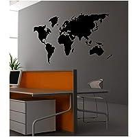 Artikel Dünya Kadife Duvar Stickerı, 88x133 Cm