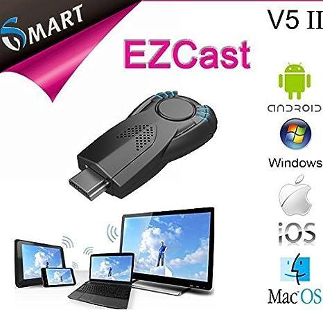 2015 ezcastv5ii nuevo Google Chromecast Ezcast DLNA miracast Airpaly TV Dongle para Smart teléfono portátil adaptador Rede sem fio: Amazon.es: Electrónica