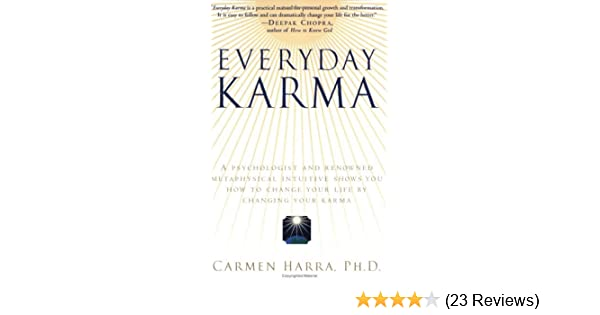 Amazon everyday karma a psychologist and renowned amazon everyday karma a psychologist and renowned metaphysical intuitive shows you how to change your life by changing your karma ebook carmen harra fandeluxe Gallery