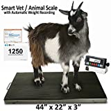 New Prime Scales PS-AS700-4422 Animal Scale / Livestock Scale / Sheep Scale / Dog Scale / Vet Scale / Pet Scale 44''x22'' 700lbx0.1lb Stainless Steel Cover with Anti-slip Mat One Year Warranty