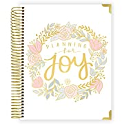 "bloom daily planners NEW Pregnancy and Baby's First Year Planner & Keepsake Journal - Hard Cover Scrapbook Memory Book Organizer - Undated - 8"" x 10  - Planning for Joy"
