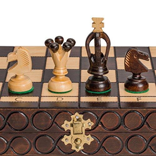 King's European International Chess Game Set - 14.2