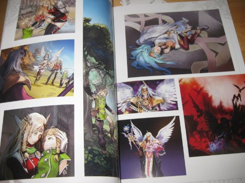 Shining Force Cross - The Collection of World & Visual Data Book