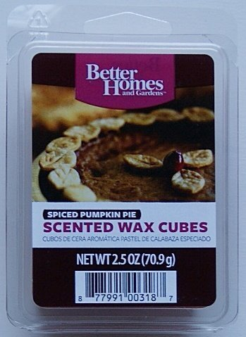 Better Homes and Gardens Spiced Pumpkin Pie Scented Wax Cubes