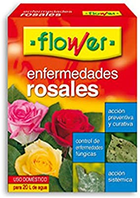 Flower - Enfermedades Rosales 10 ml. e.24: Amazon.es: Jardín