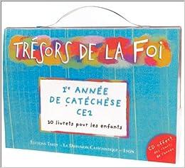 Trésors de la Foi : Pochette enfant - CE2 (10 livrets + 1 CD audio)