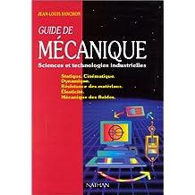 Guide de mecanique