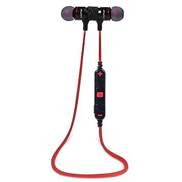AWEI Auriculares Bluetooth, Sport estéreo in-ear con conexión Bluetooth V4.1 con reducción de ruido de voz micrófono integrado: Amazon.es: Electrónica