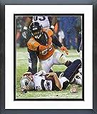 Von Miller Denver Broncos Action Photo (Size: 12.5' x 15.5') Framed