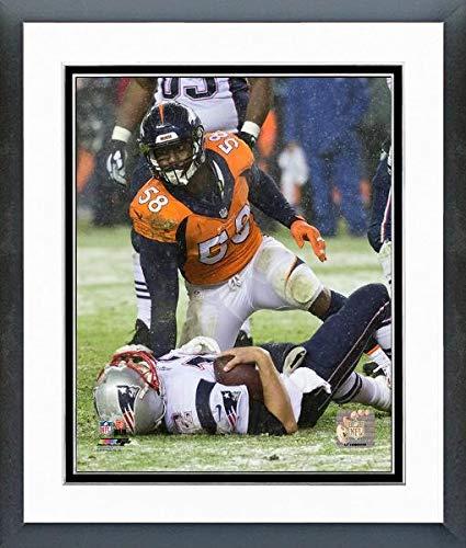 Von Miller Denver Broncos Action Photo (Size: 12.5