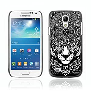 Designer Depo Hard Protection Case for Samsung Galaxy S4 Mini / Psychedelice Tiger