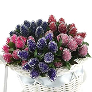 PeaceLove 12Pcs Artificial Berries for Decoration-Artificial Berries Branch Decor-DIY Fake Arrangement Flowers Christmas Decorations Outdoor-DIY Gift Box Craft Postcard Decor-Scrapbook Accessories 2
