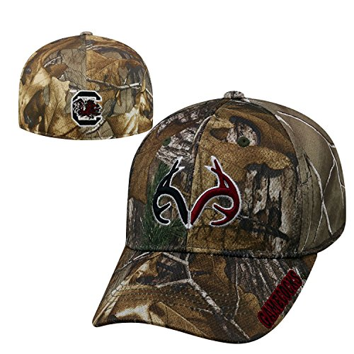 Top of the World South Carolina Gamecocks Official NCAA One Fit RTX Brand 1 Hat 465203 by Top of the World