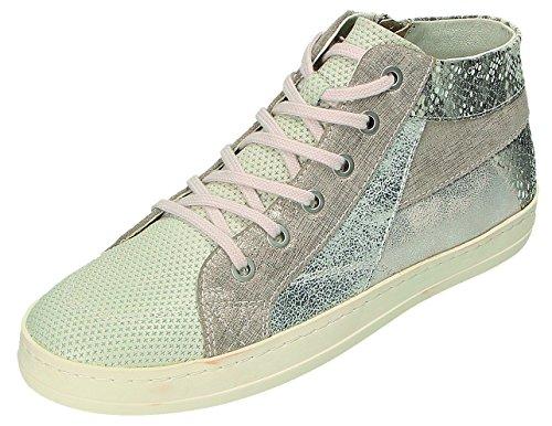 Gris Zapatos Mujer Gris para Klondike Cordones de Gris c1Fnx1a