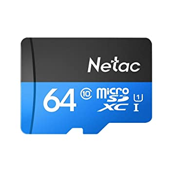 Docooler Netac P500 Clase 10 16G 32G 64G 128G Micro SDHC TF Tarjeta de Memoria Flash Almacenamiento de Datos UHS-1 de Alta Velocidad hasta 80 MB/s