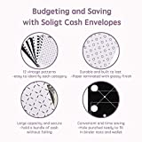 Soligt All-in-One Cash Envelopes Wallet with 12