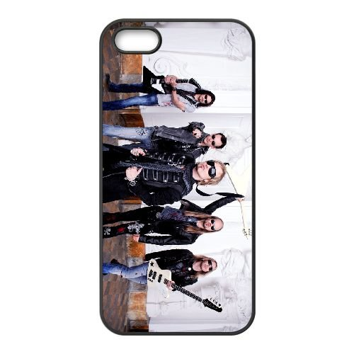 Edguy 005 coque iPhone 4 4S Housse téléphone Noir de couverture de cas coque EOKXLLNCD17263