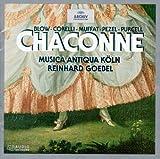 Chaconne: Blow, Corelli, Muffat, Pezel, Purcell