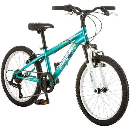 Best 20″ Byte Girl's Mountain Bike, Teal and Pink by Mongoose (online)