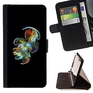 Momo Phone Case / Flip Funda de Cuero Case Cover - Ocean Diving Negro colorido - Sony Xperia Z2 D6502