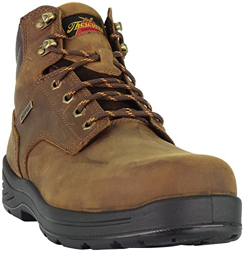Thorogood 804-3165 Men's Thoro-Flex 6'' Waterproof Composite Safety Toe Sport Boot, Trail Crazyhorse - 7.5 B(M) US by Thorogood (Image #2)