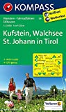 Kufstein - Walchsee - St. Johann in Tirol: Wanderkarte mit Aktiv Guide, Radwegen und Skitouren. GPS-genau. 1:25000 (KOMPASS-Wanderkarten, Band 9)
