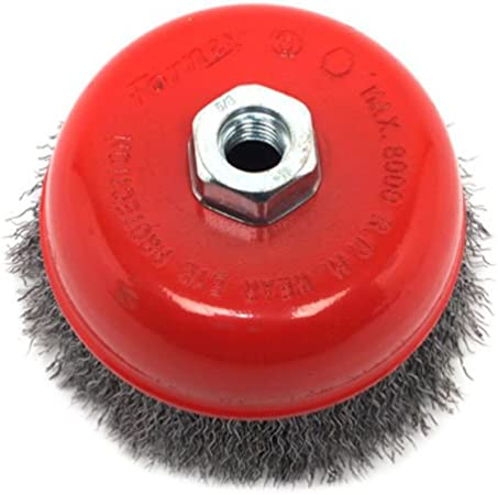 """For Angle Grinders 36 pcs of 3/"""" x 5//8/"""" Arbor FINE Crimped Wire Cup Wheel Brush"""