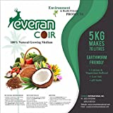 Everan Natural Coco Peat Fiber 5 kg brick