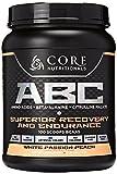 Core Nutritionals ABC Pre-Workout Supplement, White Passion Peach, 2 lb. 3 oz.