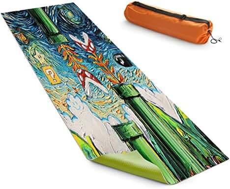 DiaNoche Designs Yoga Mats By Aja Ann - van Gogh Super Mario Bros